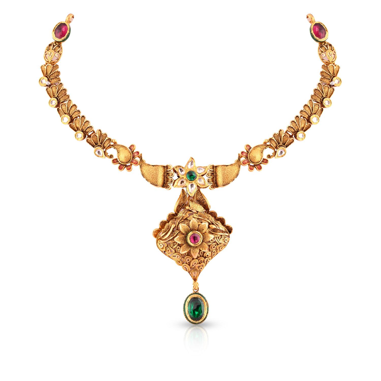 buy ethnix gold necklace andaaaaaarpf for women online