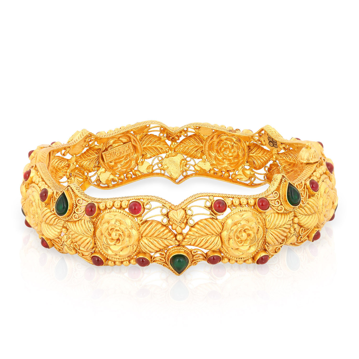 buy divine gold bangle andaaaaabaqe for women online