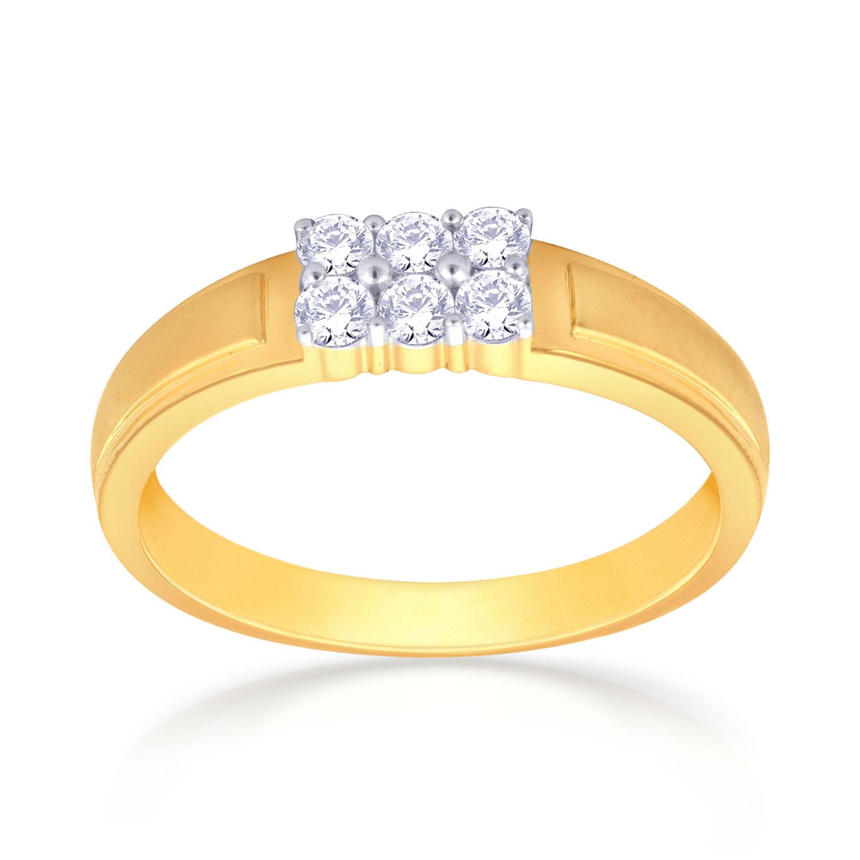 Malabar Diamond: Buy Mine Diamond Ring R54914 For Men Online