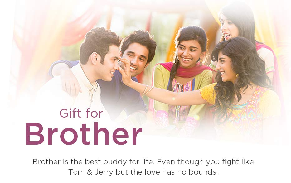 Raksha Bandhan Gifts for Brothers Online