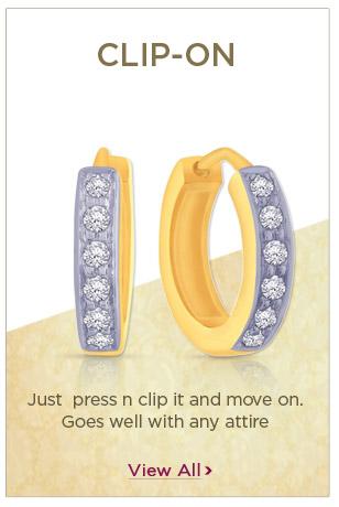 Diamond Clip-On Earrings Festival Offers