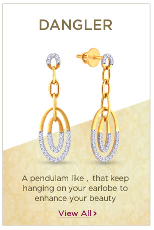 Diamond Dangler Earrings Festival Offers