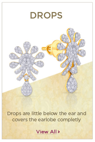Diamond Drops Earrings Festival Offers