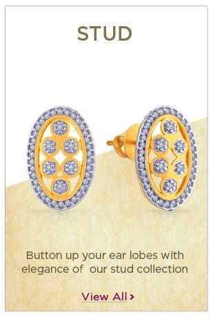 Gold Stud Earrings Festival Offers