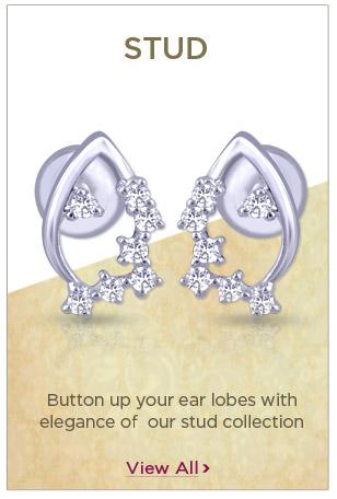 Platinum Stud Earrings Festival Offers