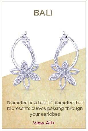 Platinum Bali Earrings Festival Offers